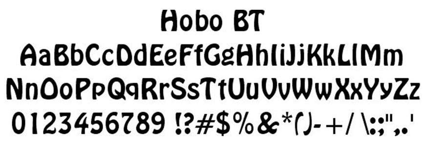 hobo-font
